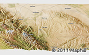 """Satellite 3D Map of the area around 39°3'25""""N,99°31'30""""E"""
