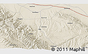 """Shaded Relief 3D Map of the area around 39°3'25""""N,99°31'30""""E"""