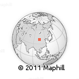 Outline Map of Suhait, rectangular outline