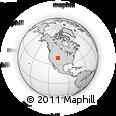 Outline Map of Silverthorne, rectangular outline