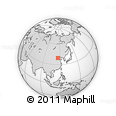 """Outline Map of the Area around 39° 30' 19"""" N, 115° 40' 30"""" E, rectangular outline"""