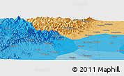 """Political Panoramic Map of the area around 39°30'19""""N,115°40'30""""E"""