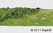 "Satellite Panoramic Map of the area around 39°30'19""N,115°40'30""E"