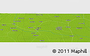 """Physical Panoramic Map of the area around 39°30'19""""N,116°31'30""""E"""