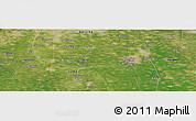 Satellite Panoramic Map of Liangxiang