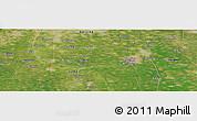 "Satellite Panoramic Map of the area around 39°30'19""N,116°31'30""E"