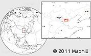 Blank Location Map of Guye
