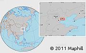 Gray Location Map of Guye