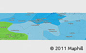 Political Panoramic Map of Guye