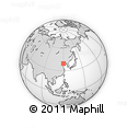 """Outline Map of the Area around 39° 30' 19"""" N, 119° 55' 30"""" E, rectangular outline"""