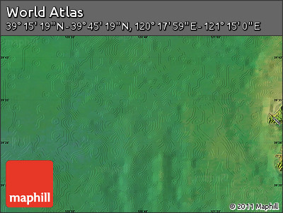 "Satellite Map of the Area around 39°30'19""N,120°46'30""E"