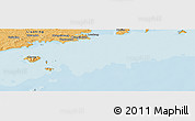 """Political Panoramic Map of the area around 39°30'19""""N,123°19'29""""E"""