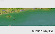 "Satellite Panoramic Map of the area around 39°30'19""N,123°19'29""E"