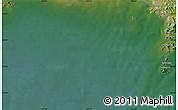 "Satellite Map of the area around 39°30'19""N,124°10'30""E"