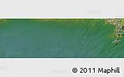 "Satellite Panoramic Map of the area around 39°30'19""N,124°10'30""E"