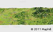 Satellite Panoramic Map of Sin-ni