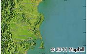 Satellite Map of Hŭngch'ŏl-li