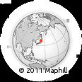 Outline Map of 025-0053, rectangular outline