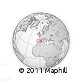 """Outline Map of the Area around 39° 30' 19"""" N, 1° 46' 29"""" E, rectangular outline"""