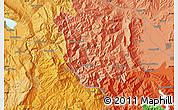 Political Map of Mouzákion
