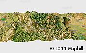 "Satellite Panoramic Map of the area around 39°30'19""N,21°19'30""E"