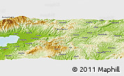 Physical Panoramic Map of Mallıca