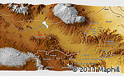 Physical 3D Map of Kargakonmaz