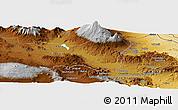 Physical Panoramic Map of Kargakonmaz