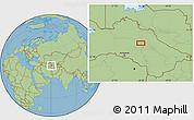 "Savanna Style Location Map of the area around 39°30'19""N,60°25'29""E"