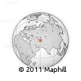 """Outline Map of the Area around 39° 30' 19"""" N, 60° 25' 29"""" E, rectangular outline"""