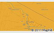 Political 3D Map of Seydi