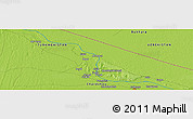 Physical Panoramic Map of Il'chik