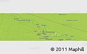 Physical Panoramic Map of Shagal