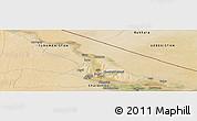 Satellite Panoramic Map of Seydi