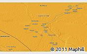 Political 3D Map of Qorako'l