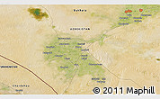 Satellite 3D Map of Qorako'l