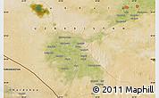 Satellite Map of Qorako'l