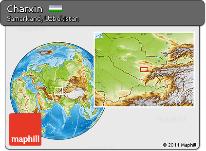 Physical Location Map of Charxin