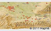 Satellite 3D Map of Koktash