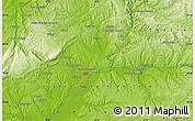 Physical Map of Aldeia de Eiras