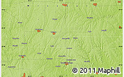 Physical Map of Lathrop