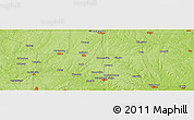 Physical Panoramic Map of Lathrop