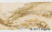 Satellite 3D Map of Dangchengwan