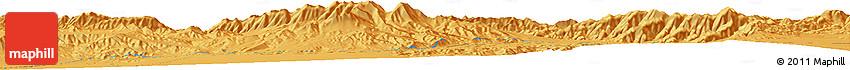 Political Horizon Map of Dangchengwan