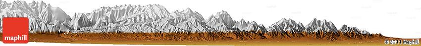 Physical Horizon Map of Xidong
