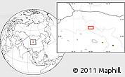 Blank Location Map of Xusanwan