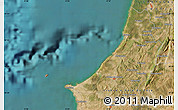 Satellite Map of Nazaré