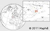 Blank Location Map of Onda