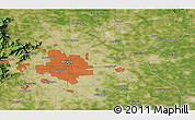 Satellite 3D Map of Beijing