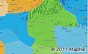 Political Map of Ganying